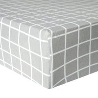 Premium Knit Fitted Crib Sheet - Midway
