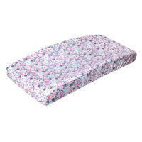 Premium Knit Diaper Changing Pad Cover - Morgan