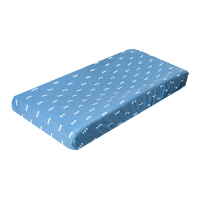 Premium Knit Diaper Changing Pad Cover - North