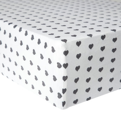 Premium Knit Fitted Crib Sheet - Smitten