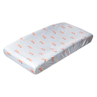 Premium Knit Diaper Changing Pad Cover - Swift