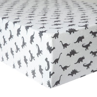Premium Knit Fitted Crib Sheet - Wild