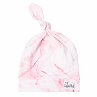 Newborn Top Knot Hat - Roxy