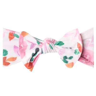 Knit Headband Bow - Siena