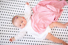 Cotton Fitted Crib Sheet - Smitten - Copper Pearl - 6