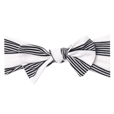 Knit Headband Bow - Tribe