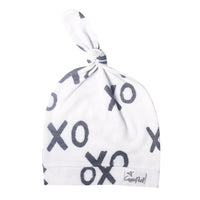 Newborn Top Knot Hat - XOXO