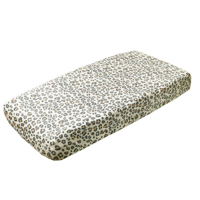 Premium Knit Diaper Changing Pad Cover - Zara