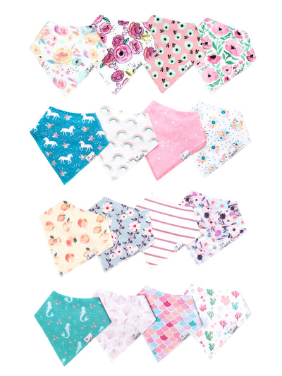 Baby Girl Bib Bundle