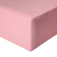 Premium Knit Fitted Crib Sheet - Darling