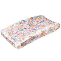 Premium Knit Diaper Changing Pad Cover - Lark