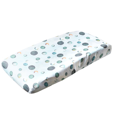 Premium Knit Diaper Changing Pad Cover - Lunar