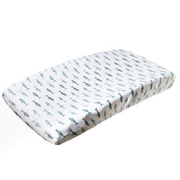 Premium Knit Diaper Changing Pad Cover - Pacific