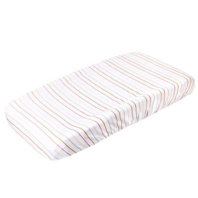 Premium Knit Diaper Changing Pad Cover - Piper
