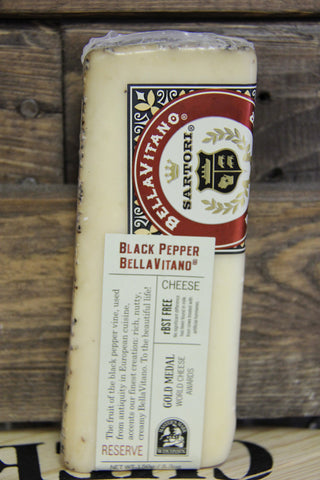 Black Pepper BellaVitano Cheese