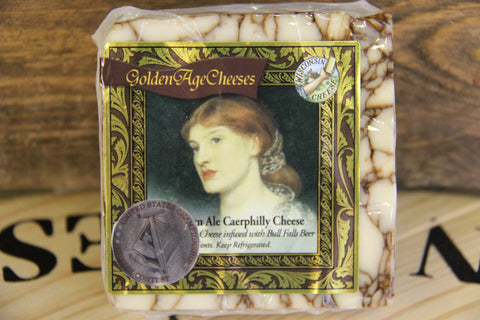 Caerphilly Brown Nut Ale Cheese