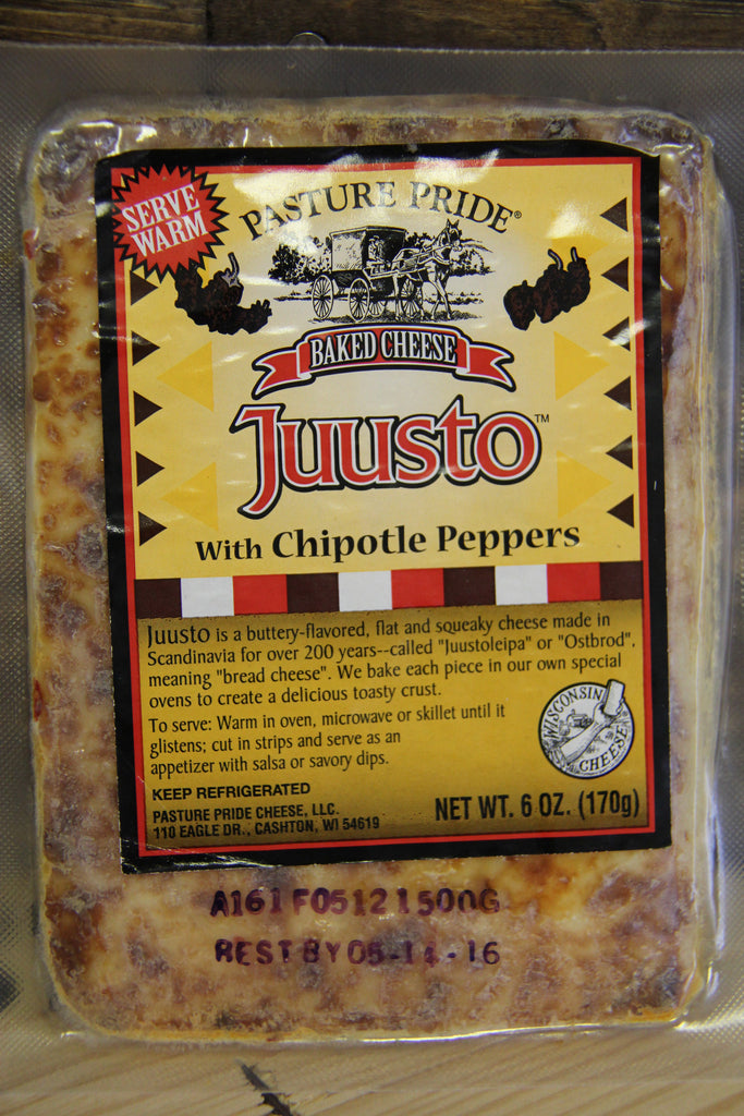 Juusto with Chipotle Peppers