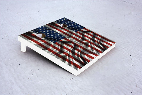 American Flag. Custom Cornhole Boards