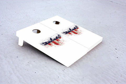 American Flag Eagle. Custom Cornhole Boards