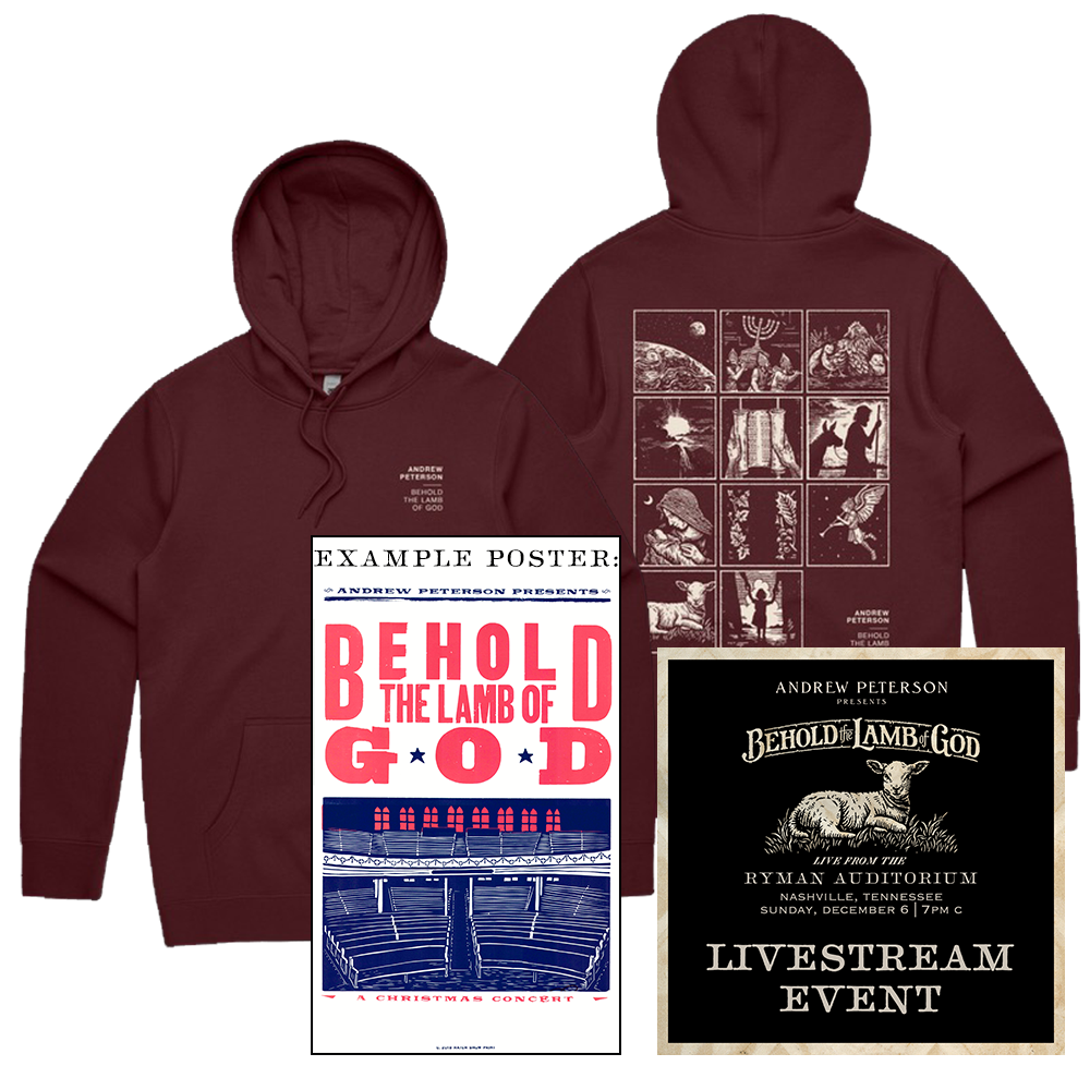 BTLOG 2020 Livestream Bundle: Single household ticket + hoodie + poster
