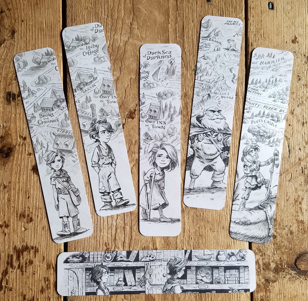 Wingfeather Saga Bookmarks (Lot of 6)