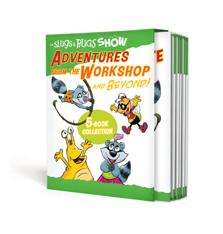 Adventures From the Workshop and Beyond! 5- Book Collection