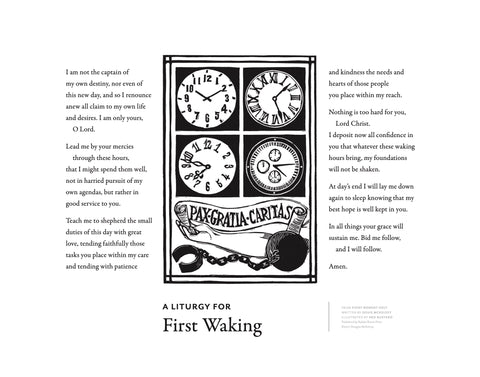 A Liturgy For First Waking Print