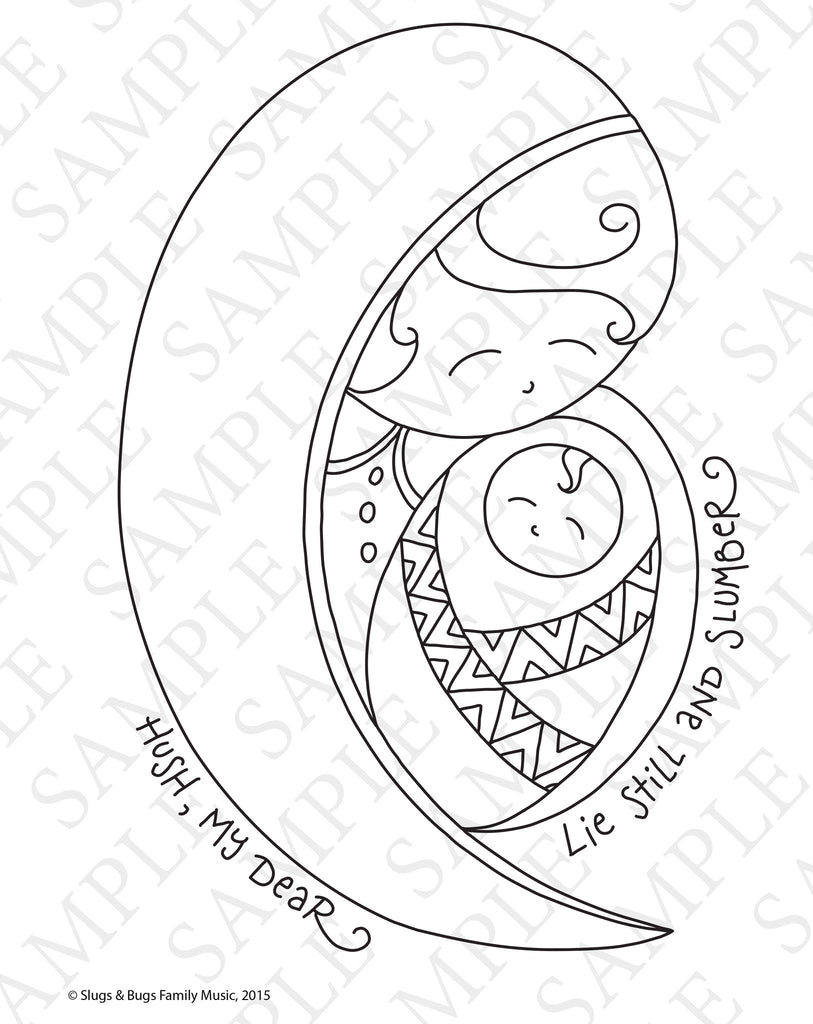 Slugs & Bugs Christmas Coloring Pages – The Rabbit Room Store