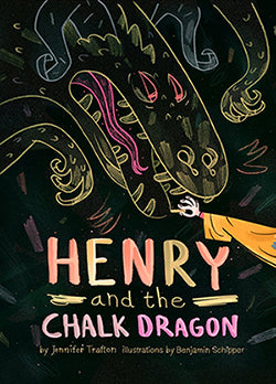 Scratched and Dented: Henry and the Chalk Dragon (Hardcover)