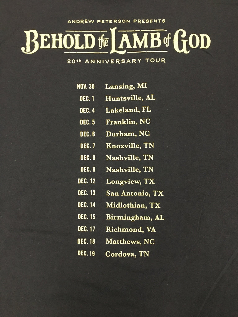 2019 Behold the Lamb of God T-Shirt