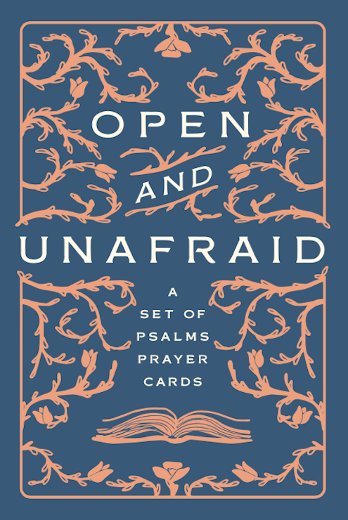 Open and Unafraid Prayer Cards