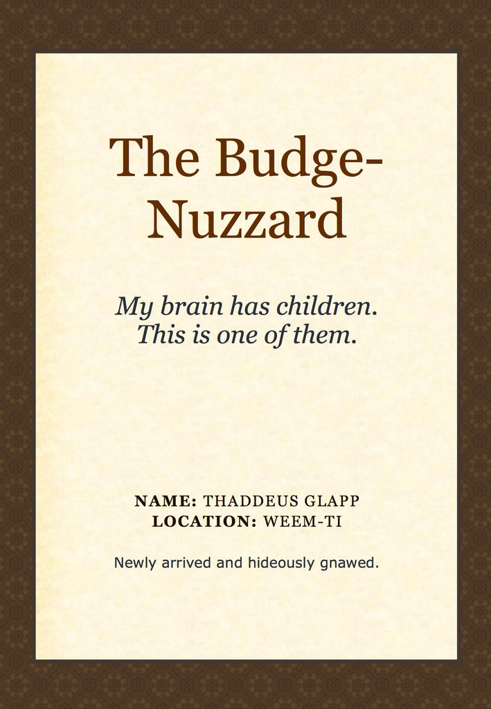 The Budge-Nuzzard
