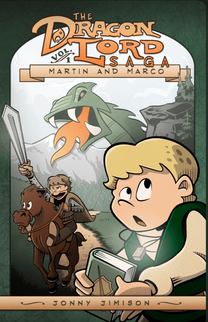 Scratched and Dented: The Dragon Lord Saga: Martin and Marco