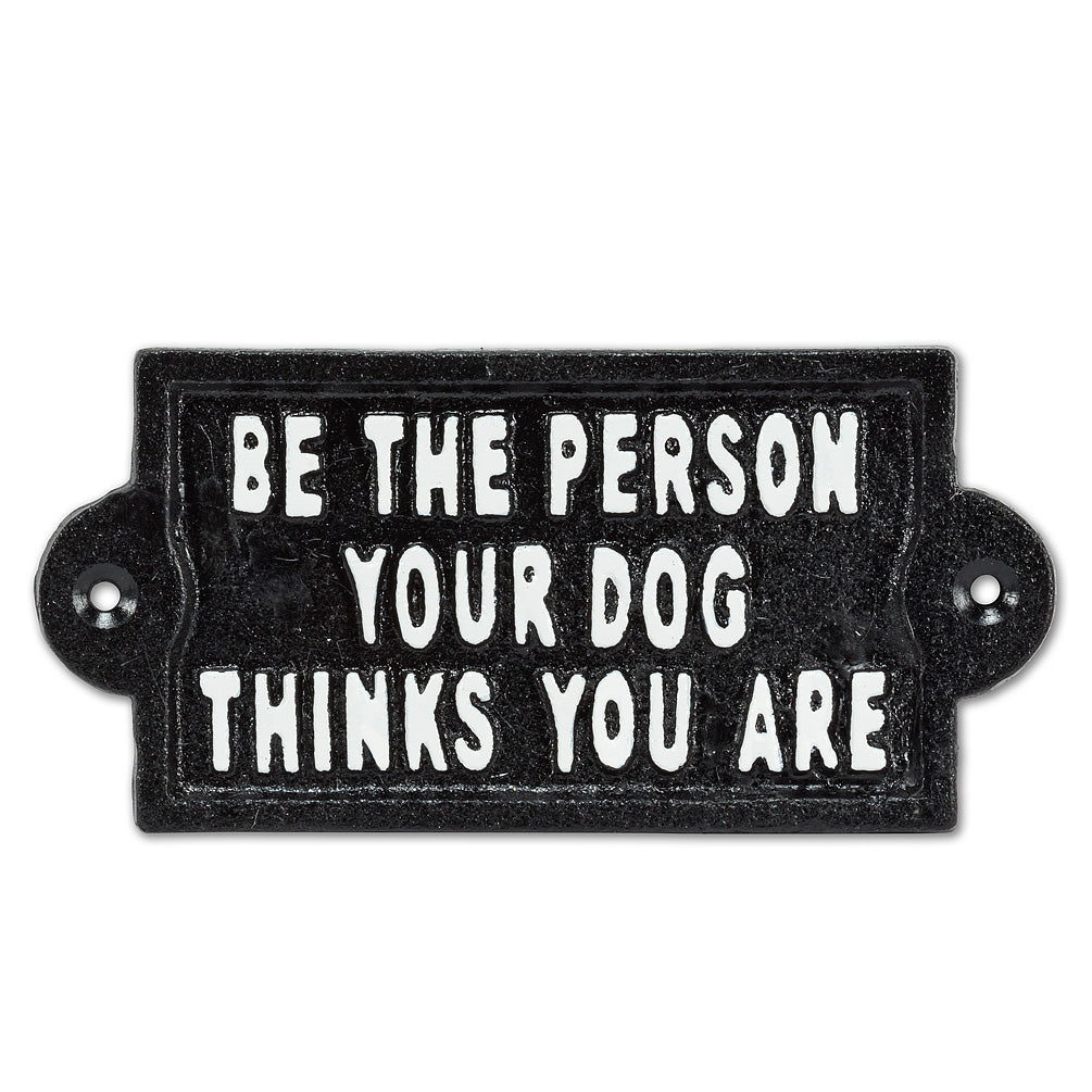 Be the Person Plaque