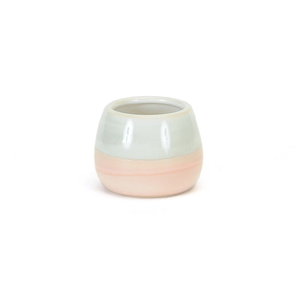 Grey and Pink Small Planter (2 Sizes)