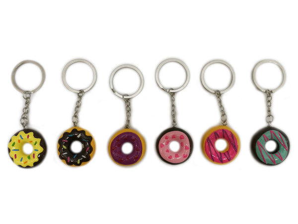 Donut Keychain assorted