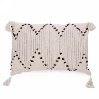 Rectangular Pillow with Tassel