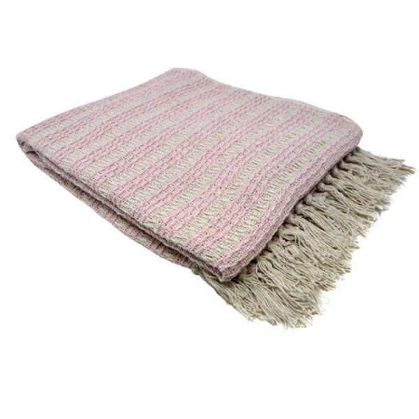 Himalaya Throw Pink