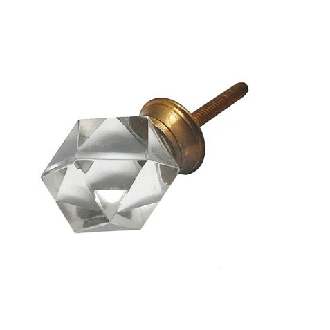 Diamond Shaped Cut Knob