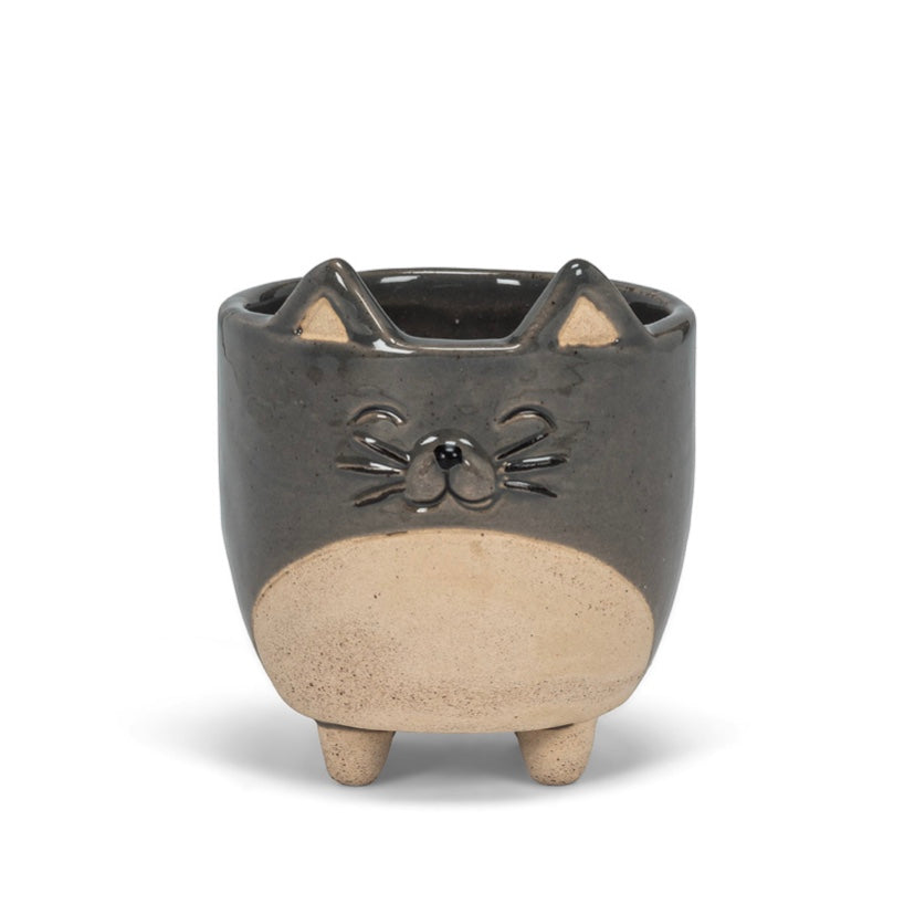 Cat On Legs Planter (2 Sizes)