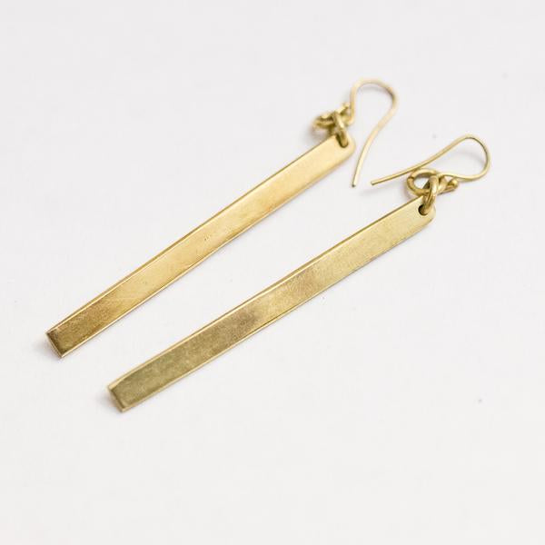 """Rahisi"" Bar Earrings ( 2 Styles)"