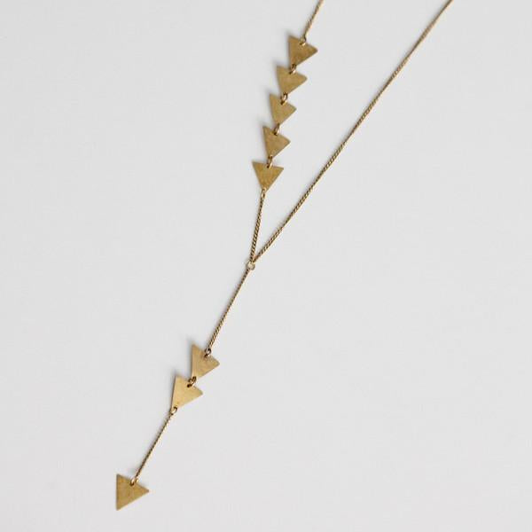 Long Arrow Necklace ( 2 Styles)