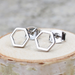 Hexagon Frame Earrings ( 2 Styles)