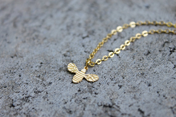 Bee Necklace (2 Colours)