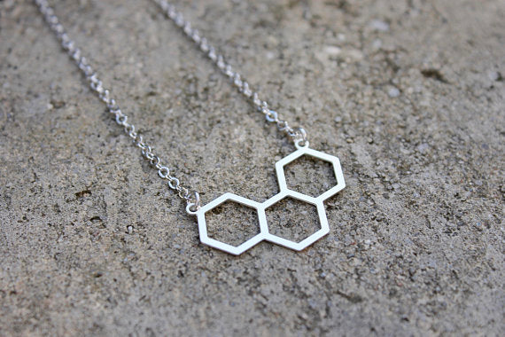 Hexagon Necklace (2 Colours)