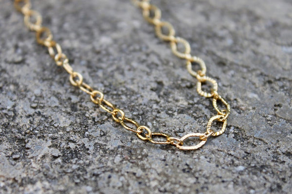 Bevelled Oval Chain