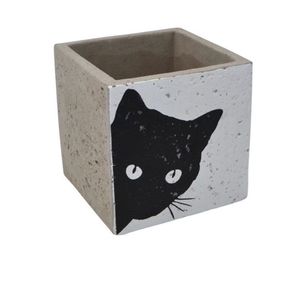 Square Cat Planter