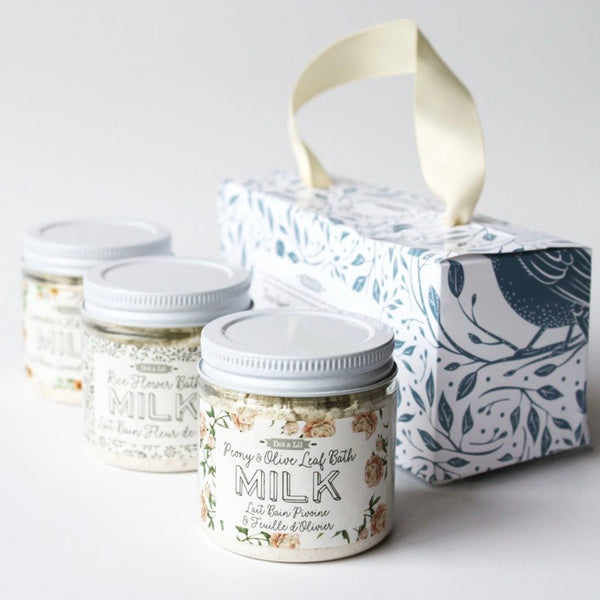 Milk Bath Trio Gift Set