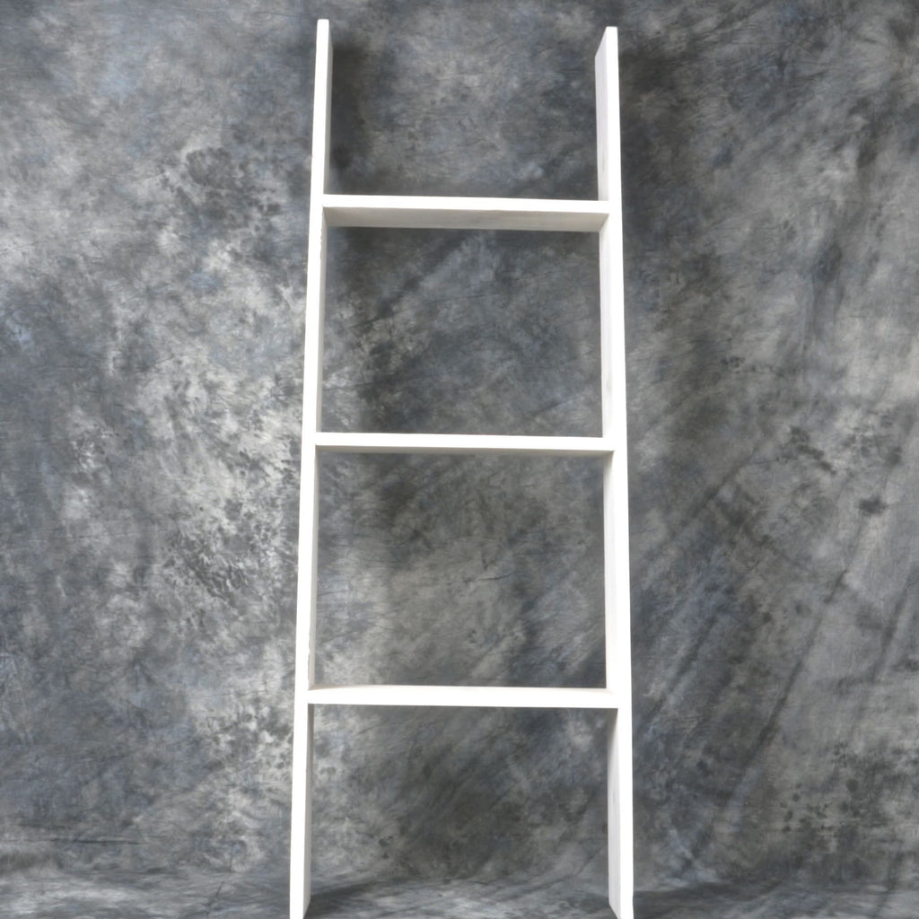 Wide Wooden Ladder (2 Colours)