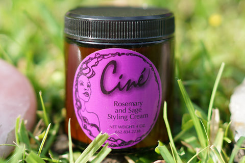Conditioning Hair: Rosemary & Sage Hair Cream